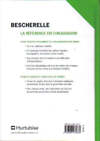 Commandez Bescherelle L Art De Conjuguer Dictionnaire De 12 000 Verbes Service Scolaire Sesco