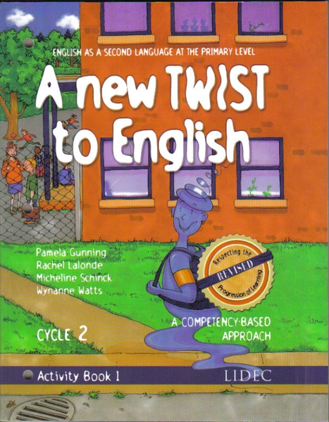 Order A New TWIST to English Cycle 2, Activity Book 1