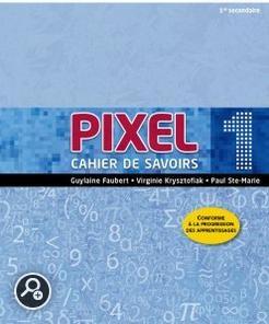 Résultats de recherche d'images pour «cahier des savoirs pixel»