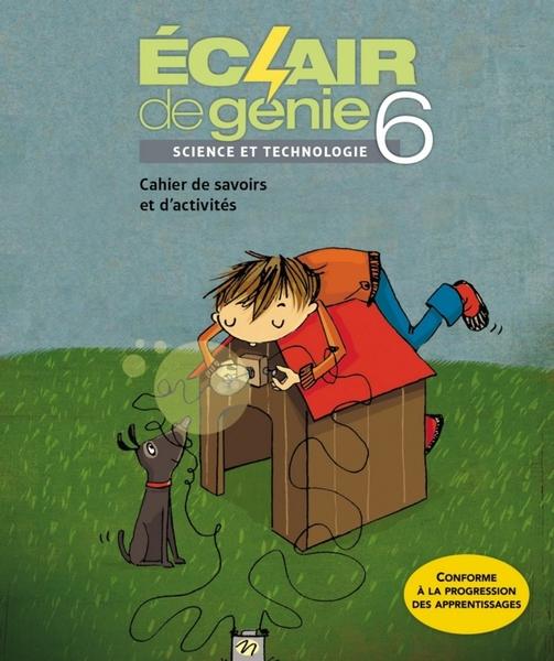 Magnifique Order Éclair de génie 6 - Science et Technologie, cahier de &OI_39